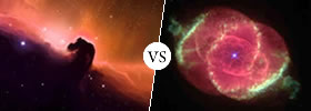 Nebula vs Planetary Nebula