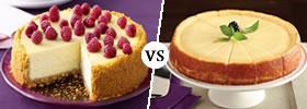 New York Cheesecake vs Chicago Cheesecake