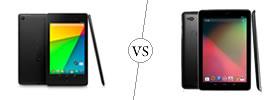 Nexus 7 vs Nexus 10