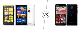 Nokia Lumia 925 vs LG Optimus G Pro