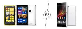 Nokia Lumia 925 vs Sony Xperia Z