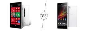 Nokia Lumia 928 vs Sony Xperia Z