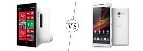 Nokia Lumia 928 vs Sony Xperia ZL