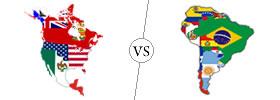 North America vs South America