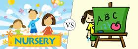 Nursery vs Pre-nursery