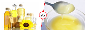 Oil vs Ghee