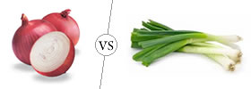 Onions vs Scallions
