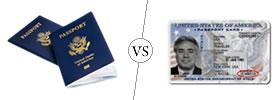 Passport Book vs Passport Card