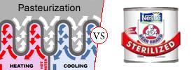 Pasteurization vs Sterilization