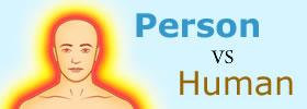 Person vs Human