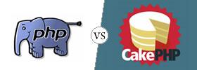 PHP vs CakePHP