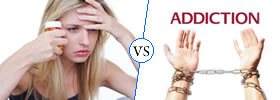 Physical Dependence vs Addiction
