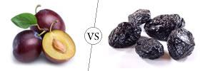 Plums vs Prunes