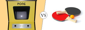 Pong vs Ping Pong