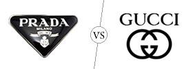 Prada vs Gucci