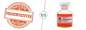 Preservatives vs Additives