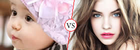 Pretty vs Gorgeous