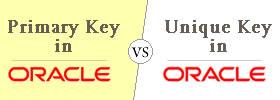 Primary Key vs Unique Key