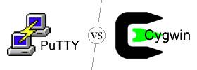 PuTTY vs Cygwin