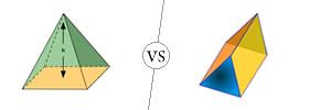 Pyramids vs Prisms