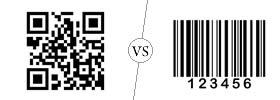 QR code vs Barcode