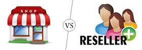 Retailer vs Reseller