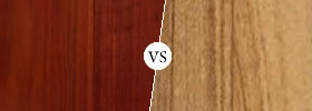 Rosewood vs Teak Wood