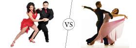 Salsa vs Ballroom Dance