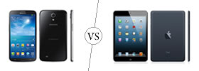Samsung Galaxy Mega 6.3 vs iPad Mini