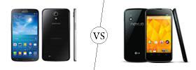 Samsung Galaxy Mega 6.3 vs Nexus 4
