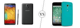 Samsung Galaxy Note 3 vs Moto X