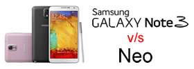 Samsung Galaxy Note 3 vs Note 3 Neo