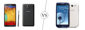 Samsung Galaxy Note 3 vs Samsung Galaxy S3