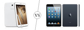 Samsung Galaxy Note 8.0 vs iPad Mini