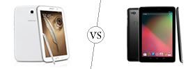 Samsung Galaxy Note 8.0 vs Nexus 10