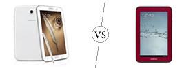 Samsung Galaxy Note 8.0 vs Samsung Galaxy Tab 2 7.0