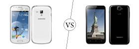 Samsung Galaxy S Duos vs Karbonn Titanium S5