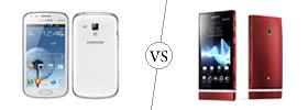 Samsung Galaxy S Duos vs Sony Xperia P