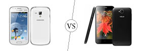 Samsung Galaxy S Duos vs Xolo Q800