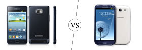 Samsung Galaxy S2 vs Samsung Galaxy S3
