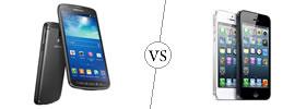 Samsung Galaxy S4 Active vs iPhone 5