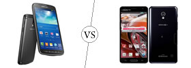 Samsung Galaxy S4 Active vs LG Optimus G Pro