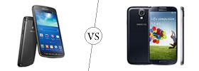 Samsung Galaxy S4 Active vs Samsung Galaxy S4