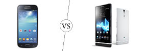 Samsung Galaxy S4 Mini vs Sony Xperia S