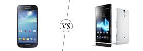 Samsung Galaxy S4 Mini vs Sony Xperia S