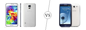 Samsung Galaxy S5 vs S3