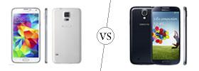 Samsung Galaxy S5 vs S4