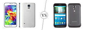 Samsung Galaxy S5 vs S5 Active