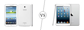 Samsung Galaxy Tab 3 7.0 vs iPad