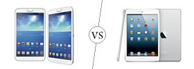 Samsung Galaxy Tab 3 8.0 vs iPad